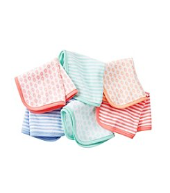 Carter's® Baby Girls' Assorted Six-Pack Wash Cloths