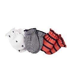 Carter's® Baby Boys' Navy/Grey 3-pair Mitts