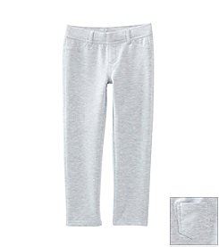 Little Miss Attitude Mix & Match Girls' 2T-6X Heather Grey Solid Jeggings