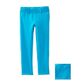 Little Miss Attitude Mix & Match Girls' 2T-6X Capri Breeze Solid Jeggings