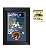 Miami Marlins Infield Dirt Coin Mini Mint by Highland Mint