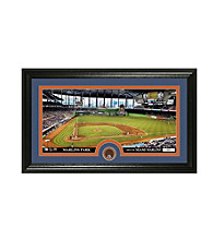 Miami Marlins Infield Dirt Coin Panoramic Photo Mint by Highland Mint