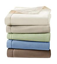 Premier Comfort Microfleece Blanket with Satin Binding