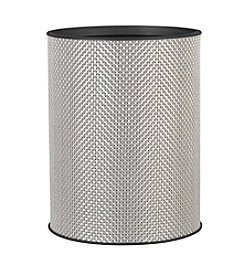 LaMont Home® Basketweave Round Wastebasket