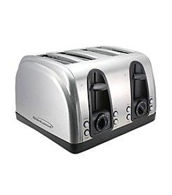 Brentwood 4-Slice Stainless Steel Elegant Toaster