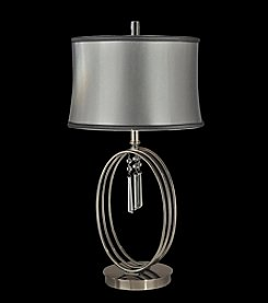 Dale Tiffany Halo Ring Crystal Table Lamp