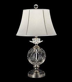 Dale Tiffany Lotus Sunrise Crystal Table Lamp