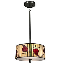 Dale Tiffany Macintosh Dark Bronze Pendant Lighting Fixture