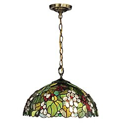 Dale Tiffany Paloma Antique Brass Pendant Lighting Fixture