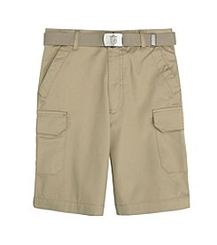 French Toast® Boys' 4-20 Belted Cargo Shorts