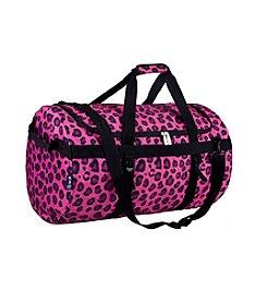 Wildkin Pink Leopard Traveler Duffel