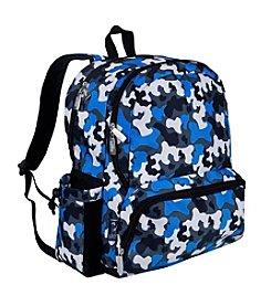 Wildkin Blue Camo Megapak Backpack