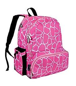 Wildkin Pink Giraffe Megapak Backpack