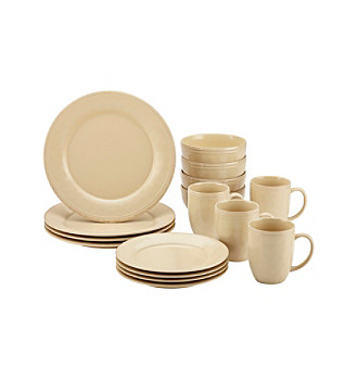 Rachael Ray® Cucina Almond Cream 16-pc. Dinnerware Set