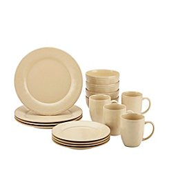 Rachael Ray® Cucina Almond Cream 16-pc. Dinnerware Set  +FREE BONUS GIFT see offer details