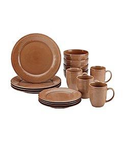 Rachael Ray® Cucina Mushroom Brown 16-pc. Dinnerware Set + FREE BONUS GIFT see offer details