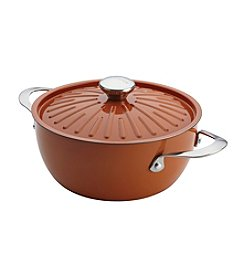 Rachael Ray® Cucina 4.5-qt. Pumpkin Orange Covered Casserole