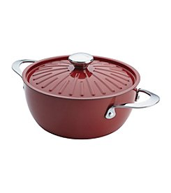 Rachael Ray® Cucina 4.5-qt. Cranberry Red Covered Casserole