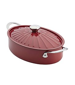 Rachael Ray® Cucina 5-qt. Cranberry Red Covered Sauteuse