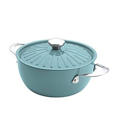 Rachael Ray® Cucina 4.5-qt. Agave Blue Covered Casserole