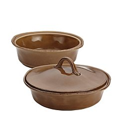 Rachael Ray® Cucina 2-pk. Mushroom Brown Casseroles with Lid