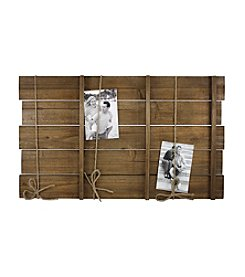 Fetco® Plank And Twine Rustic Wall Collage