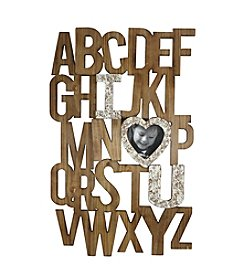 Fetco® Alphabet Collage Frame