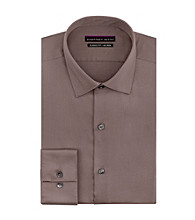 Geoffrey Beene® Men's Artichoke Green Long Sleve Solid Dress Shirt