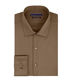 Geoffrey Beene® Men's Pier Brown Long Sleeve Fitted Dress Shirt