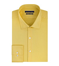 Geoffrey Beene® Men's Sunflower Long Sleeve Fitted Dress Shirt