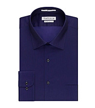 Van Heusen® Men's Long Sleeve Herringbone Dress Shirt