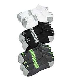 PUMA® Men's 6-pack Assorted Low-Cut Socks