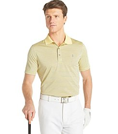 Izod® Men's Short Sleeve 'Pro Shop' Striped Polo Shirt