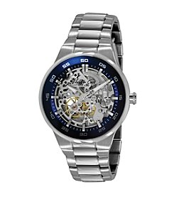 Kenneth Cole New York® Men's Silvertone Jackson Automatic Watch