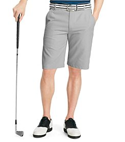 Izod® Men's Flat-Front Microfiber Shorts