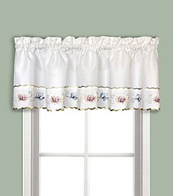 United Curtain Co. Butterfly Valance