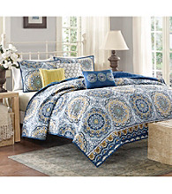 Madison Park™ Tangiers 6-pc. Quilted Coverlet Set