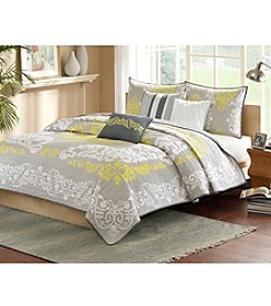 Madison Park™ Cameo 6-pc. Quilted Coverlet Set