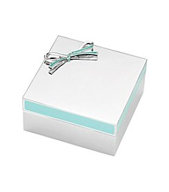 kate spade new york® Vienna Lane Turquoise Keepsake Box