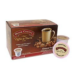 Door County Coffee & Tea Co. Almond Toffee Coffee 12-pk. Single Serve Cups