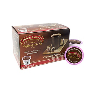 Door County Coffee & Tea Co. Chocolate Caramel Truffle 12-ct. Single Serve Cups