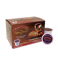 Door County Coffee & Tea Co. Caramel Pecan 12-pk. Single Serve Cups