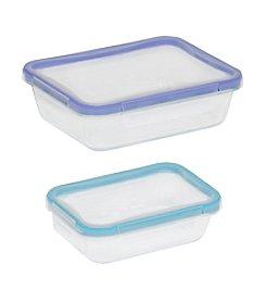 Snapware® 4-pc. Glass Rectangle Containers Value Pack With Total Solution Lids