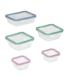 Snapware® 10-pc. Glass Storage Set With Total Solution Lids