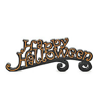 LivingQuarters Happy Halloween Sign