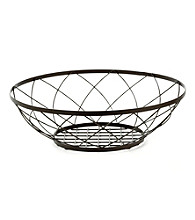 LivingQuarters Decorative Wire Mesh Bowl