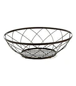 LivingQuarters Decorative Wire Mesh Bowl