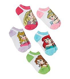 Disney® Girls' Assorted 5-pk. Princess No Show Socks