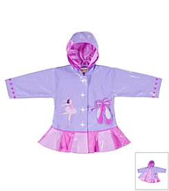 Kidorable™ Girls' 12M-6X Ballerina Raincoat