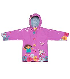Kidorable™ Girls' 12M-6X  Dora Raincoat